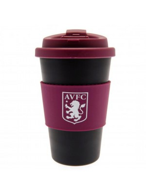 Aston Villa FC Silicone Grip Travel Mug