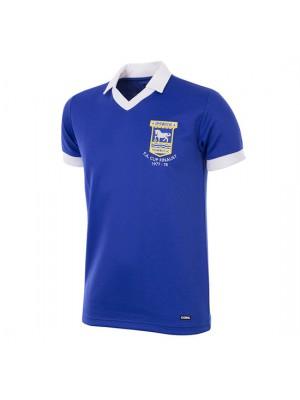 Ipswich Town FC 1977 - 78 Short Sleeve Retro Football Shirt