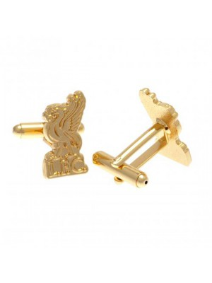 Liverpool FC Gold Plated Cufflinks LB