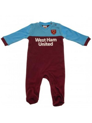 West Ham United FC Sleepsuit 3/6 Months ST