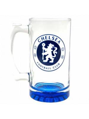 Chelsea FC Stein Glass Tankard CC