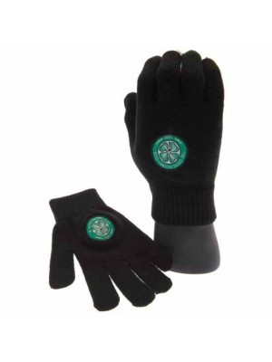 Celtic FC Knitted Gloves Youths
