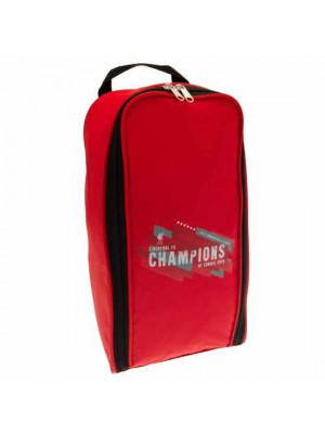 Liverpool FC Champions of Europe Boot Bag