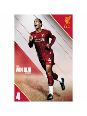 Liverpool FC Poster Van Dijk 15