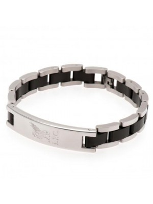 Liverpool FC Black Inlay Bracelet