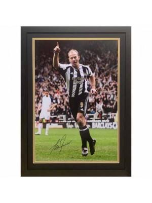 Newcastle United FC Shearer Signed Framed Print