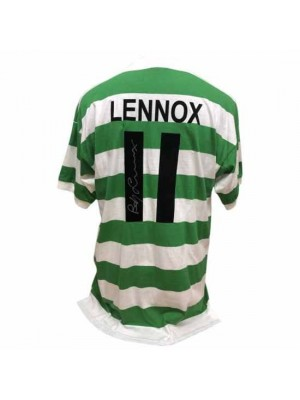 Celtic FC Lennox Signed Shirt