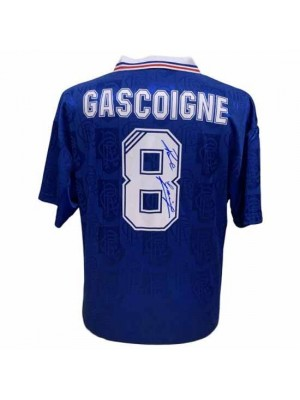 Rangers FC Gascoigne Signed Shirt