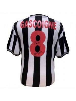 Newcastle United FC Gascoigne Signed Shirt