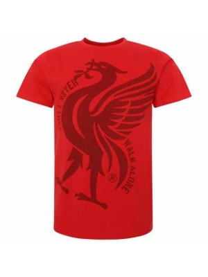 Liverpool FC Liverbird T Shirt Mens Red XXL