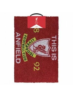 Liverpool FC Doormat TIA