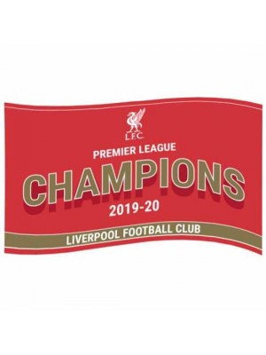 Liverpool FC Premier League Champions Flag