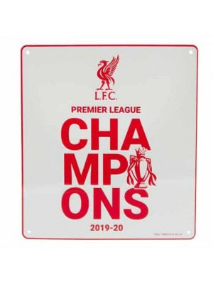 Liverpool FC Premier League Champions Sign WT