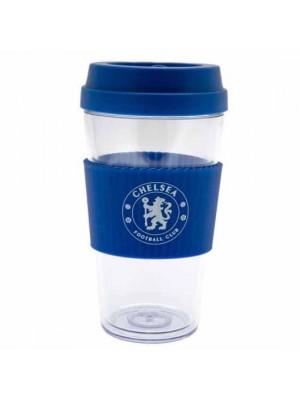 Chelsea FC Clear Grip Travel Mug