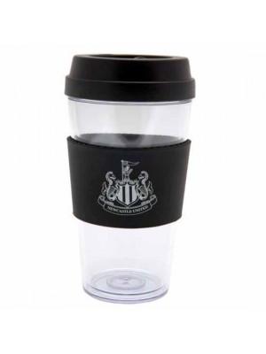 Newcastle United FC Clear Grip Travel Mug