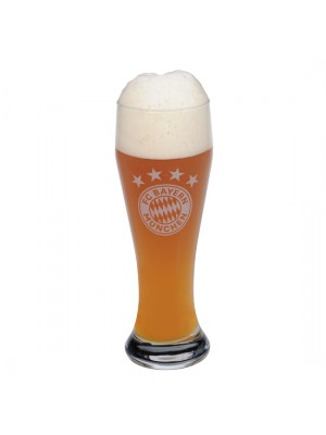 FC Bayern Munchen Beer Glass Logo (whitebier)