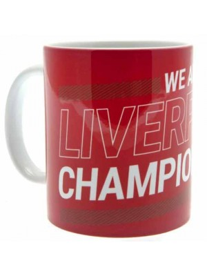 Liverpool FC League Champions 19-20 Mug