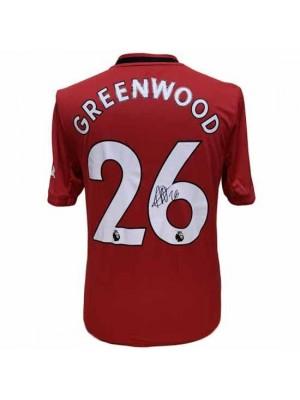 Manchester United FC Greenwood Signed Shirt
