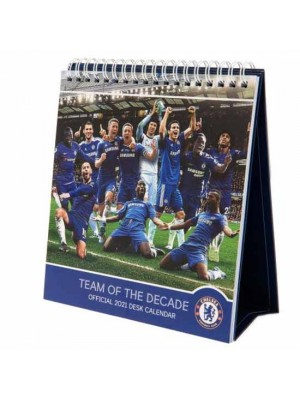 Chelsea FC Desktop Calendar 2021