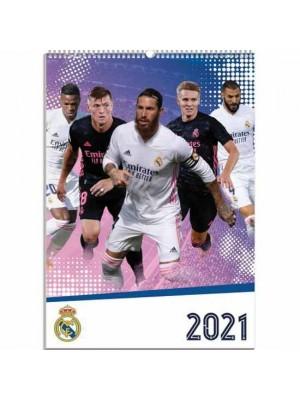 Real Madrid FC Calendar 2021