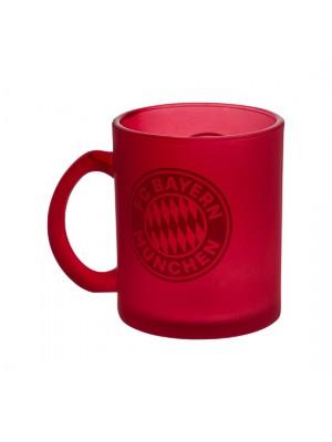 FC Bayern Munchen Mug Glas red