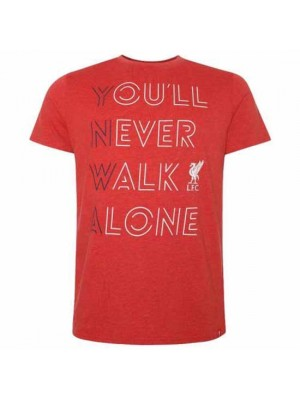 Liverpool FC YNWA T Shirt Mens Red S