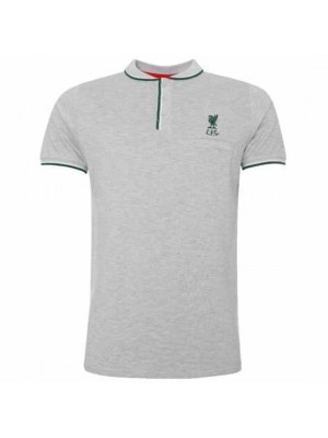 Liverpool FC Birdseye Polo Mens Grey XXL