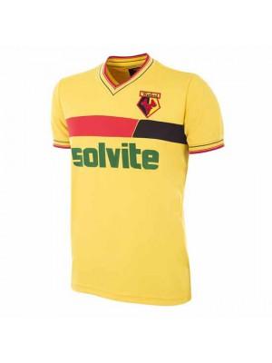 Watford FC 1986 - 87 Retro Football Shirt