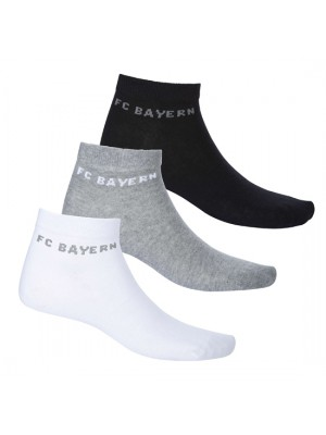 FC Bayern Munchen Sneaker Socks (set of 2)