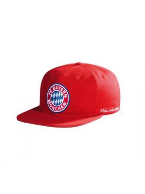 FC Bayern Munchen Snapback Cap Kids Logo red