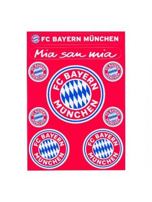 FC Bayern Munchen Sticker card logo