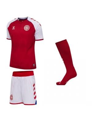 Denmark DBU home kit 2016/17 – youth