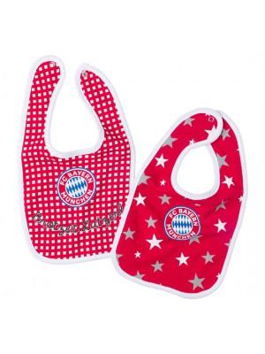 FC Bayern Munchen Baby Bib (Set of 2)