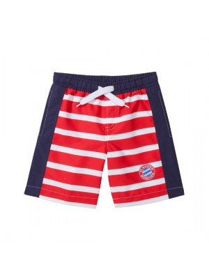 FC Bayern Munchen Swimming Short Striped Kids