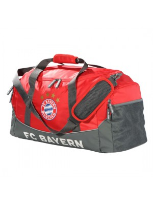 FC Bayern Munchen Sports Bag red