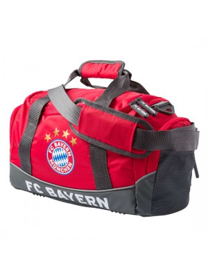 FC Bayern Munchen Sports Bag small red