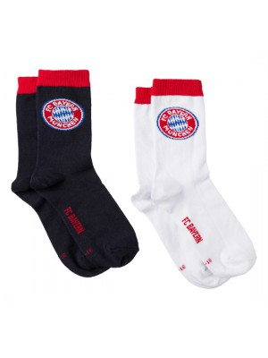 FC Bayern Munchen Sports Socks Kids (set of 2)