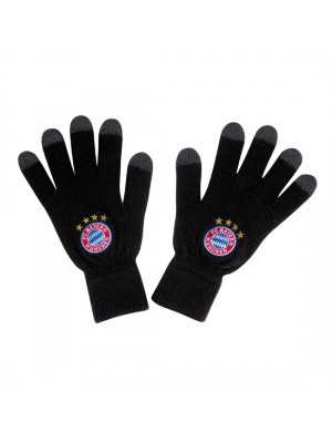 FC Bayern Munchen Knitted Gloves Logo Touch