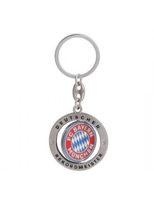 FC Bayern Munchen Keyring Rekordmeister