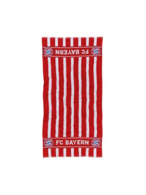 FC Bayern Munchen Towel Large red/white