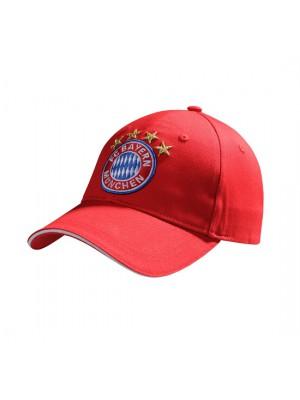 FC Bayern Munchen cap Logo red Kids