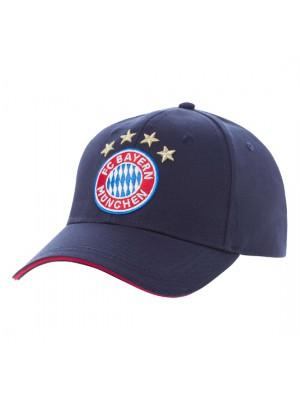 FC Bayern Munchen cap Logo navy