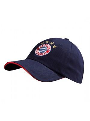 FC Bayern Munchen cap Logo navy Kids
