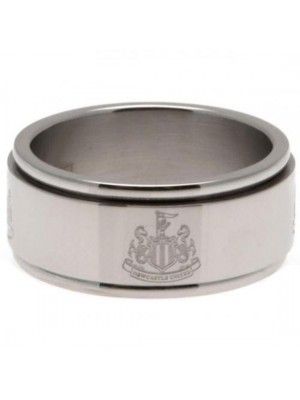 Newcastle United FC Spinner Ring Medium