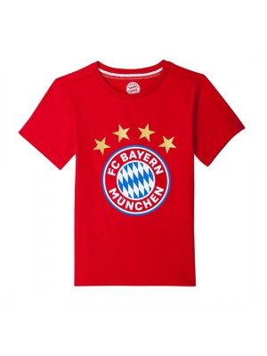 FC Bayern Munchen T-Shirt Logo Red Infants