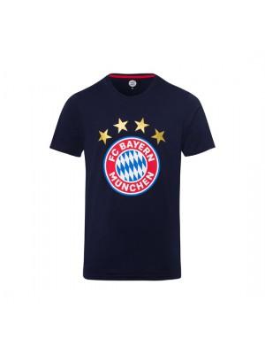 FC Bayern Munchen T-Shirt Logo Navy
