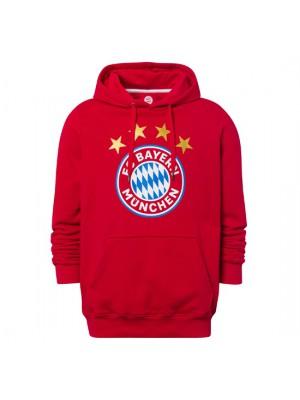 FC Bayern Munchen Hoodie Logo red