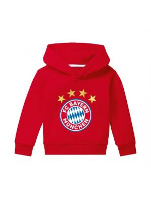 FC Bayern Munchen Hoodie Logo red infants