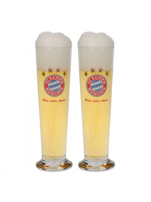 FC Bayern Munchen Pils Glass (Set of 2)