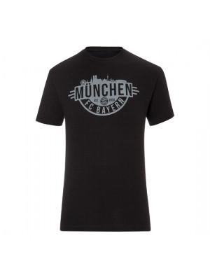 FC Bayern Munchen T-Shirt Munich Black